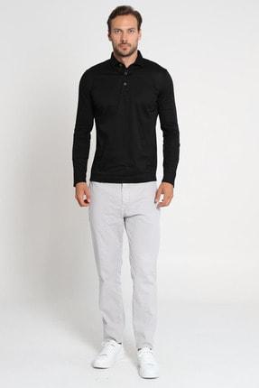 Lufian Olaw Spor Chino Pantolon Slim Fit Gri 0