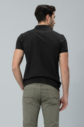 Picture of Alpaca Spor Polo T- Shirt Siyah