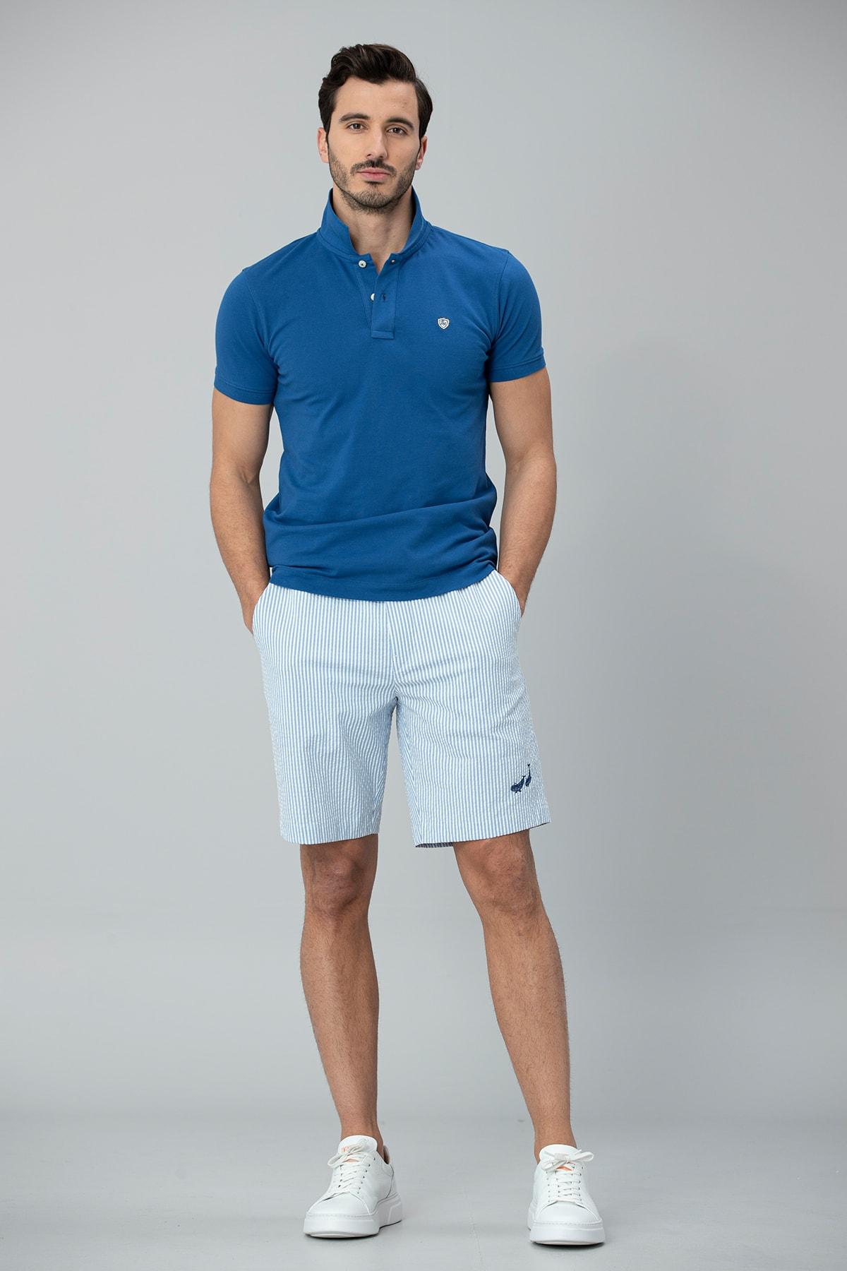 Lufian Laon Spor Polo T- Shirt Saks 1
