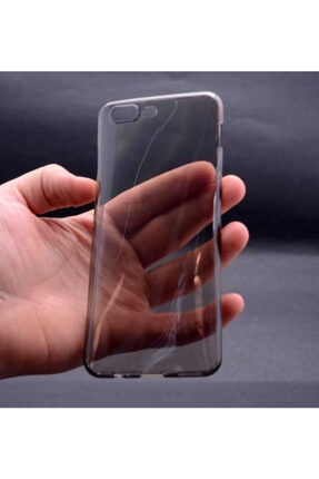 Dijimedia One Plus 5 Kılıf Zore Ultra Ince Silikon Kapak 0.2 Mm Renksiz 3