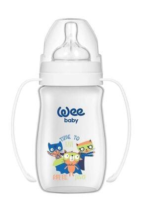 Wee Baby Klasik Plus Geniş Ağızlı Kulplu Pp Biberon 250 Ml 138 0