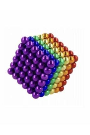 CMT 5mm 8 Renkli Neodyum Mıknatıslı Küre Zeka Gelişim Bilyesi 2