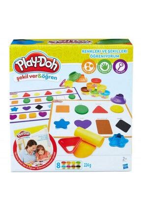 Play Doh Renkleri ve Şekilleri Öğreniyorum 0
