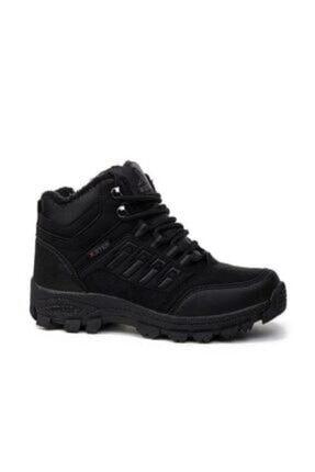 XStep Erkek Siyah Soğuk Geçirmez Kışlık Ayakkabı Bot 0