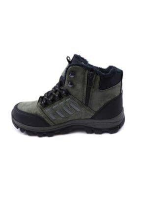 XStep Erkek Siyah Soğuk Geçirmez Kışlık Ayakkabı Bot 4