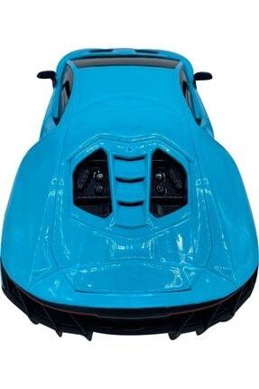 Can-Em Oyuncak Uzaktan Kumandalı Şarjlı Araba 1385-7a - Mavi 4