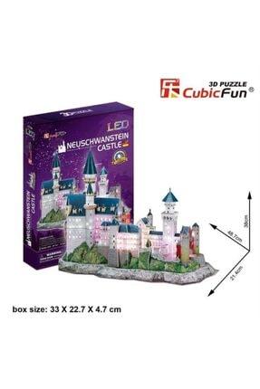 Cubic Fun 3d Puzzle Neuschwanstein Kalesi-almanya 1