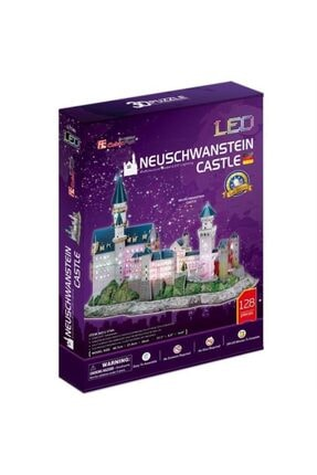 Cubic Fun 3d Puzzle Neuschwanstein Kalesi-almanya 3