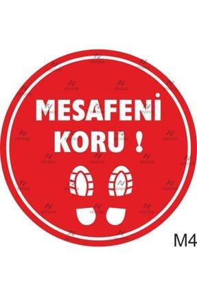 3M Sosyal Mesafe Yer Sticker 3