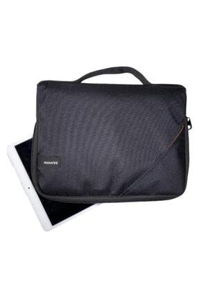 Moserini Ipad Samsung Huawei Lenova Uyumlu Smart Slim Tablet Çantası - Siyah 4