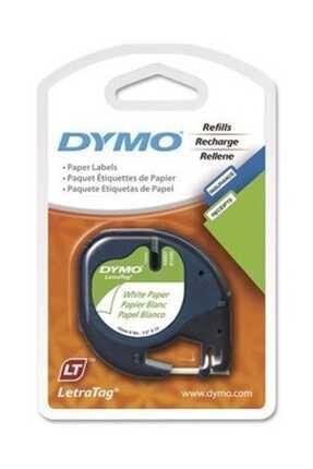 Dymo Şerit Let.kağıt 12mmx4m Beyaz 721510 59421 0