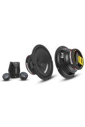 Soundmax Oto Mıdrange Component 16cm 300w 2 Adet Sx-combo6 0