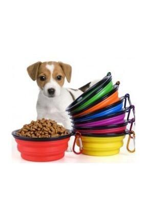 Hediye Buketi Katlanabilir Kedi Köpek Mama Ve Su Kabı 350 Ml 0