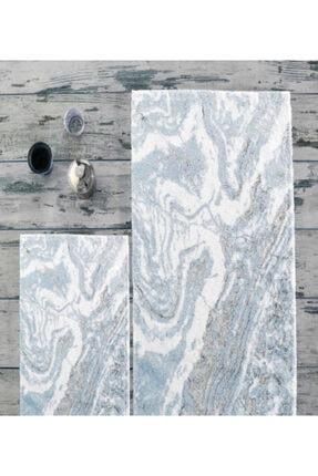 İyi Geceler İstanbul Hc&w 2 Parça Banyo Paspas/klozet Takımı Marble Gri %100 Pamuk 0
