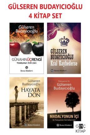 Remzi Kitabevi Gülseren Budayıcıoğlu 4 Kitap Set Madalyonun Içi Günahın Üç Rengi Kral Kaybederse Hayata Dön 0