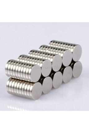 Dünya Magnet 50 Adet 10mm X 2mm Güçlü Yuvarlak Neodyum Mıknatıs (50'li Paket) 3