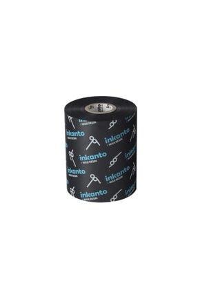 Inkanto Wax-resin Ribon Siyah 90mm X 300mt (out) 0