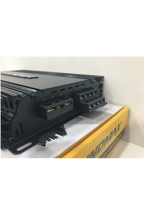 Soundmax Sx-2500.4 3000 Watt 4ch Yeni Seri Oto Anfi 4