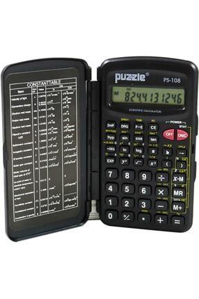 Puzzle Ps-108 Fonksiyonlu Hesap Makinesi 0