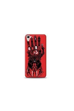 Kılıf Madeni Htc Desire 826 Marvel Tasarımlı Telefon Kılıf Y-mavengerskf0021 0