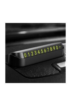 Platoon Araç Içi Park Telefon Numarası Fosforlu Numaratör Araç Cam Kartı 0