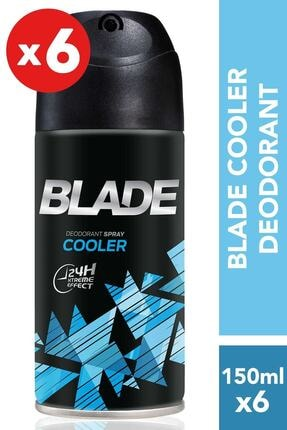 Blade 6'lı Cooler Erkek Deodorant 150 Ml X 6 0