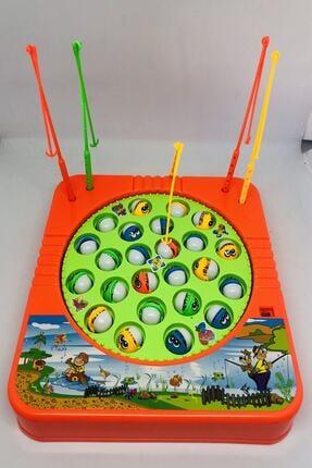 Kids Hareketli Ve Sesli Balık Tutma Oyun Seti 2
