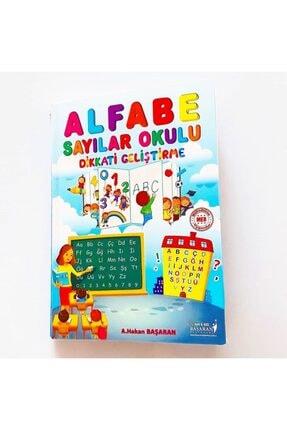 Başaran Yayınları Alfabe Sayılar Okulu Dikkati Geliştirme 1