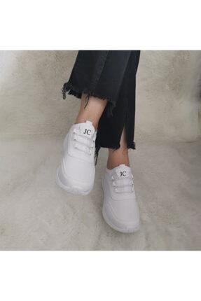 Gezer Yeni Sezon Aqua Ortopedik Ipli Lastikli Bayan Yürüyüş Spor Ayakkabı Sneaker 1