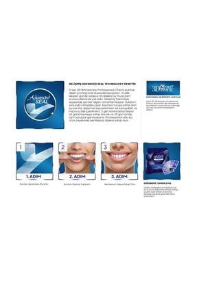 CREST 3d Whitestrips Professional Effects Diş Beyazlatma Bantları (6 Bant) 3