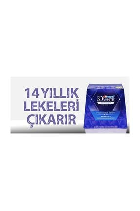 CREST 3d Whitestrips Professional Effects Diş Beyazlatma Bantları (1 Kutu / 40 Bant) 3