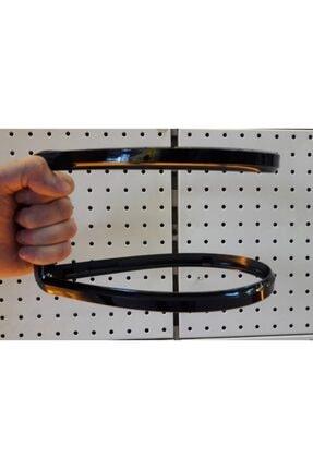 Z Tech Esnek Kırılmaz Siyah Çerçeveli Plaka Altı Çerçeve Plakalık 1 Adet 3