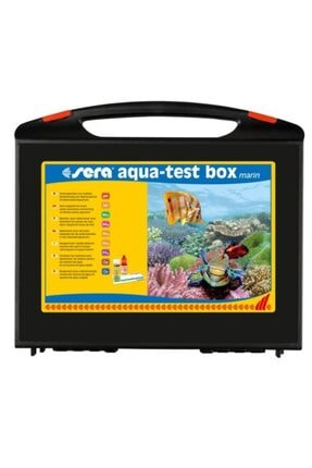 Sera Tuzlusu Akvaryum Testi Seti Aqua Test Box Marin 0
