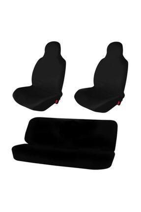 Style Otomobil Servis Kılıfı Likralı Esnek Siyah Tüm Araç Modellerine Uygundur 0