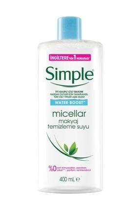 Simple Water Boost Micellar Makyaj Temizleme Suyu 400 Ml. 0
