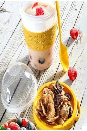 Nestle Sade Kahvaltılık Gevrek 1400 Gram ( Take And Go Müsli Kabı 600 Ml Hediye) 1