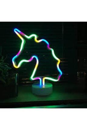Doğuş Dogusdeco Unicorn Neon Led Işıklı Masa-gece Lambası Dekoratif Neon Led Lamba 0