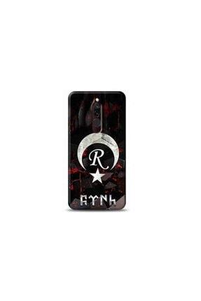 Kılıf Madeni Xiaomi Redmi 8 R Harfli Bayrak Tasarimli Telefon Kilifi Y-bayrakr 0