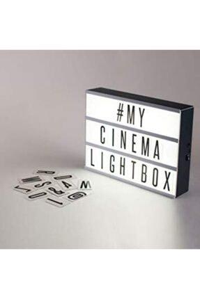 Akar Çarşı Avm A4 Işıklı Harfli Dekoratif Led Mesaj Panosu Lightbox 0