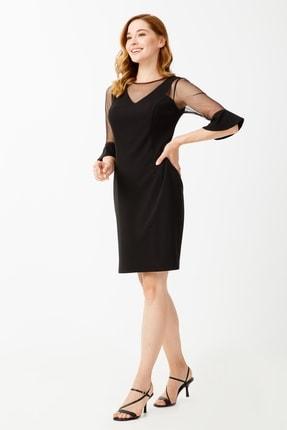 Ekol Kadın Siyah Elbise 1
