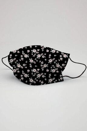 3NNN Çiçek Desen Maske 5 Adet 0