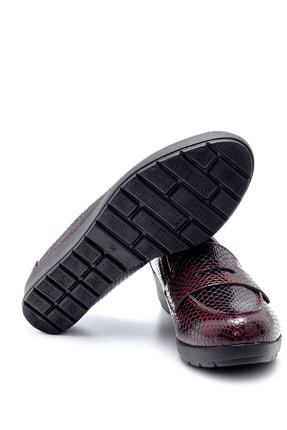 Derimod Kadın Bordo Desenli Ayakkabı 2