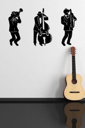 aynam Müzisyenler Duvar Dekoru, Duvar Süsü, Ahşap Dekoratif Tablo, Lazer Kesim 0
