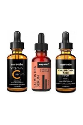 MARY-ROBE Somon Dna Serum , Hyaluronıc Acıd , Vitamin C Serum 0