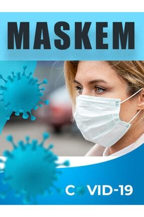 maskem Cerrahi Maske 50 Adet Ultrasonik Hijyen Belgeli 0
