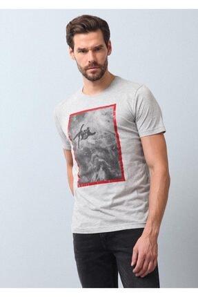 Ramsey Baskılı Örme T - Shirt 0