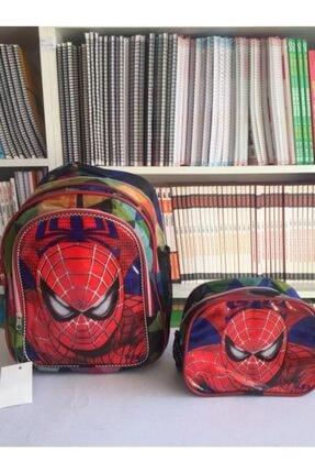 Erkek Çocuk Kırmızı Okul Çantası SPIDERMAN OKUL ÇANTASI
