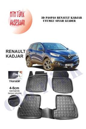Leader 3d Paspas Renault Kadjar Uyumlu Siyah 0