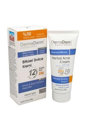 DermaDerm Bitkisel Sivilce Kremi 100 Gr 0