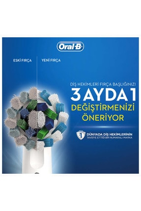 Oral-B Diş Fırçası Yedek Başlığı Cross Action 4 Adet 2